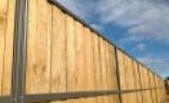 Farm Fencing Lap and Cap Timber Fencing